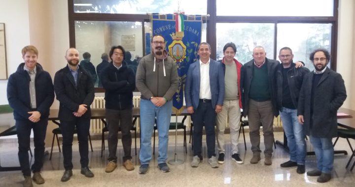 I soci IAAP alla presentazione nuova oasi Fiume Fiumetto