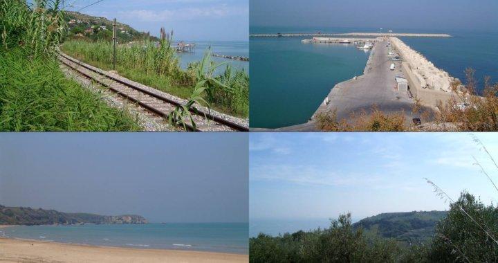 spiagge e elementi della costa abruzzese