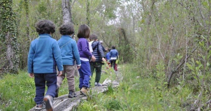 attività di educazione ambientale Oasi Montessori Serranella