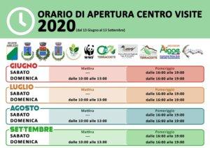 Orari Apertura Centro Visite Serranella