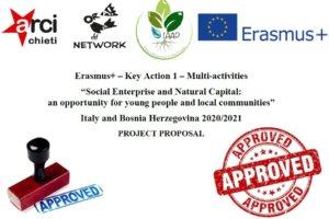 progetto erasmus+ approvato