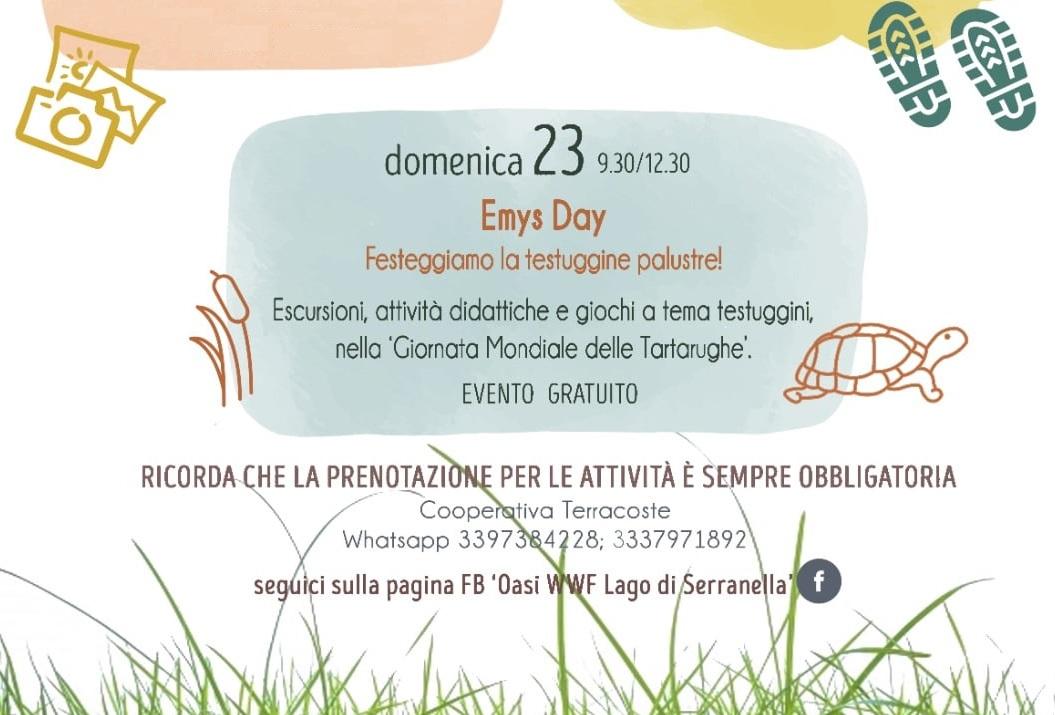Emys day a Serranella